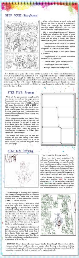 Comic Page Tutorial - Steps 4-6