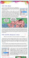 Comic Page Tutorial - Steps 10-11 by glitcher