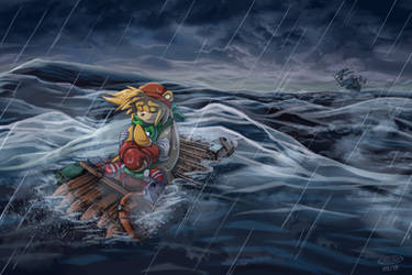 COMM: Pirate Pluder Prequel - Friends Forever by glitcher
