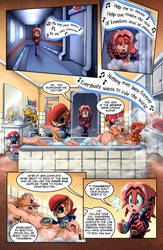 SONIC RETOLD - Issue 3, Page 3 by glitcher