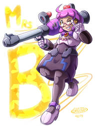 COMM: Mrs. B by glitcher