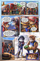SONIC RETOLD - Issue 3, Page 17 by glitcher