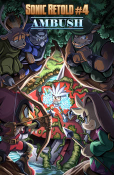 SONIC RETOLD - Issue 4, Cover