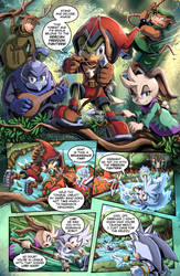 SONIC RETOLD - Issue 4, Page 6 by glitcher