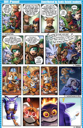 SONIC RETOLD - Issue 4, Off-Panel