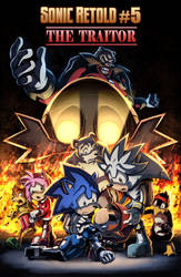 SONIC RETOLD - Issue 5, Cover