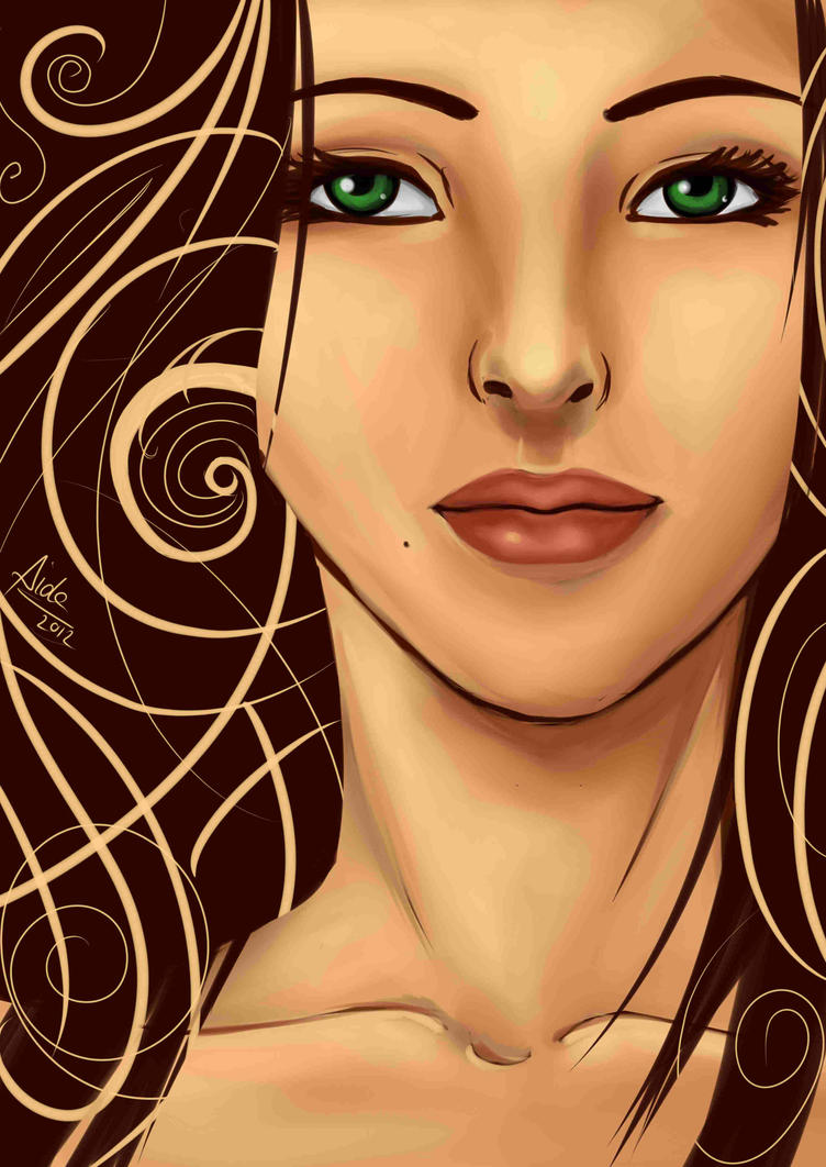 Twirls and Sad Smiles by im--not--OK