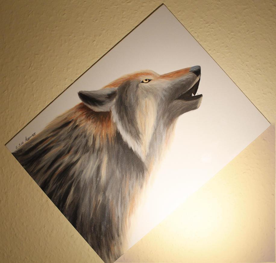#BookArt 14 - Shana, the Wolfgirl by Kaywenn