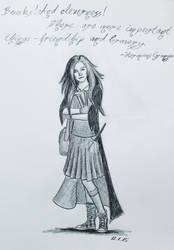Hermione by Kaywenn