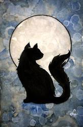 Moon Cat by linmh