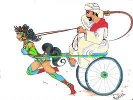 Arabic Race by nurbikaPonygirl