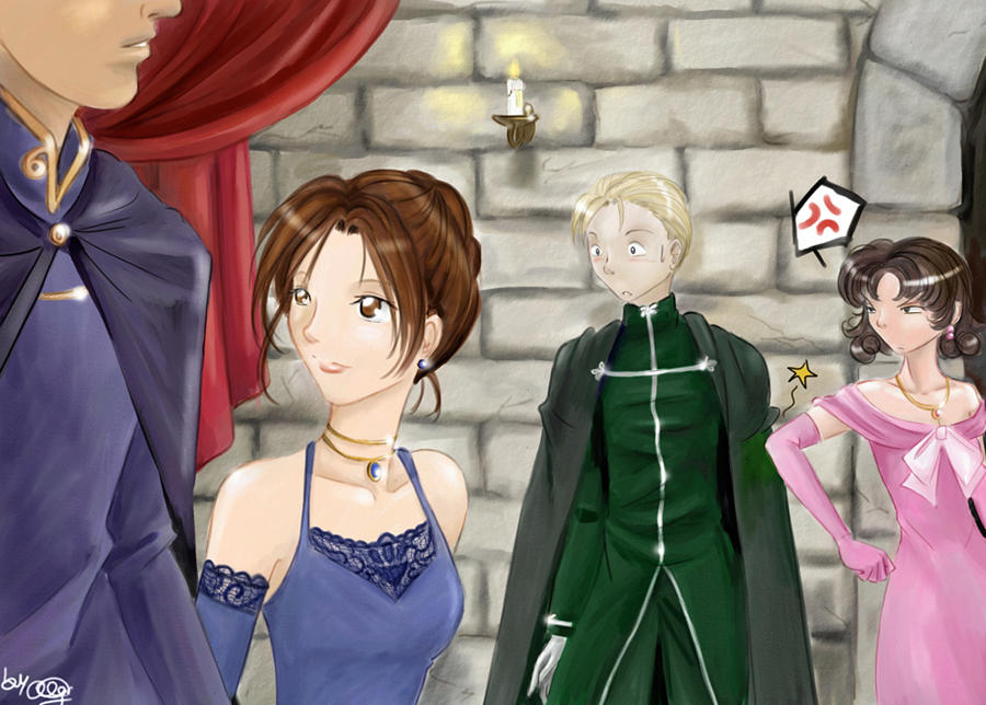 Hermione and Draco - Yule Ball by funny-neko