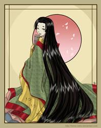 Heian Lady by funny-neko