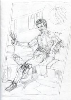 Lando Calrissian Pencils July 2018