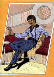 Lando Calrissian Colours August 2018