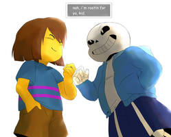 i'm rootin for ya [UNDERTALE] by Maxx2DXtreame
