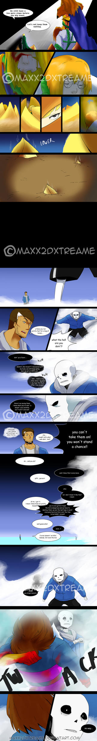 [Undertale] Detour pg 17 by Maxx2DXtreame