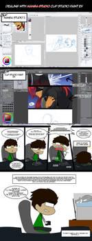Dealing with Manga Studio... er Clip Studio Paint