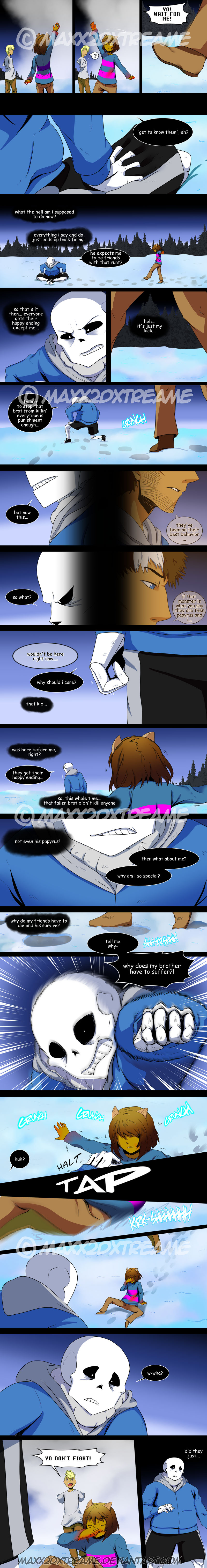 [Undertale] Detour pg 33 by Maxx2DXtreame