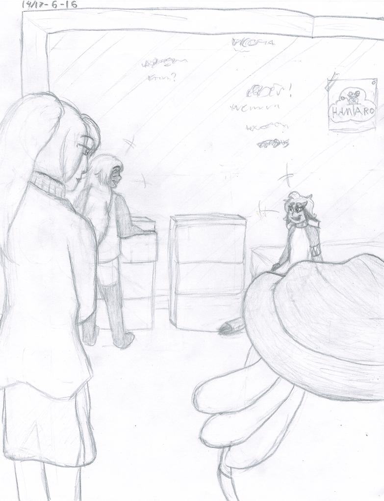 Study one: Dorm buddies~ by Snailcomicz