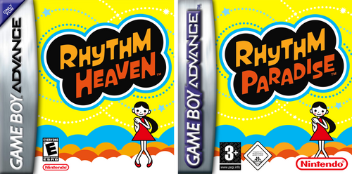 Rhythm Paradise: GameBoy Advance Box