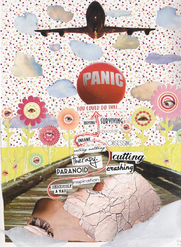 Panic by RebeccaLongArt