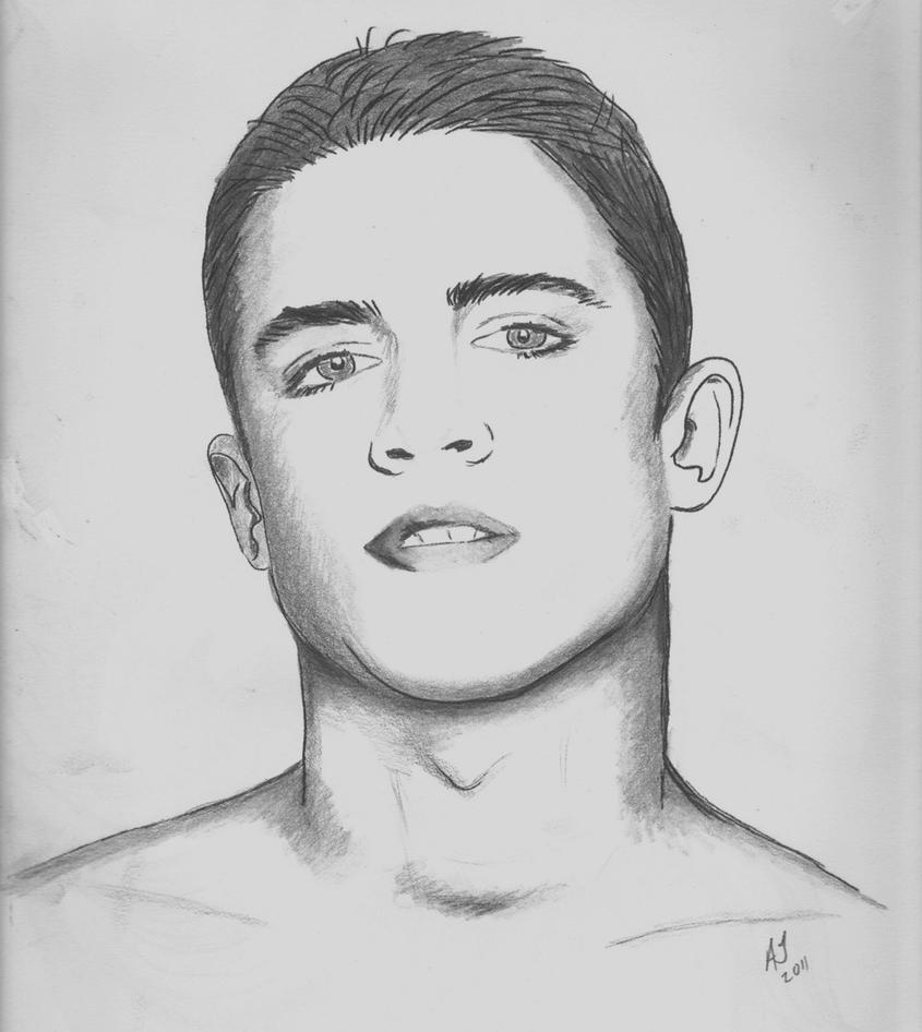 Face drawing / Dibujo cara by Alurcada
