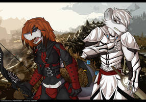 dovahkiin mittens n Will [commission