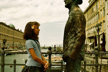 Child With Joyce by Adah-nue