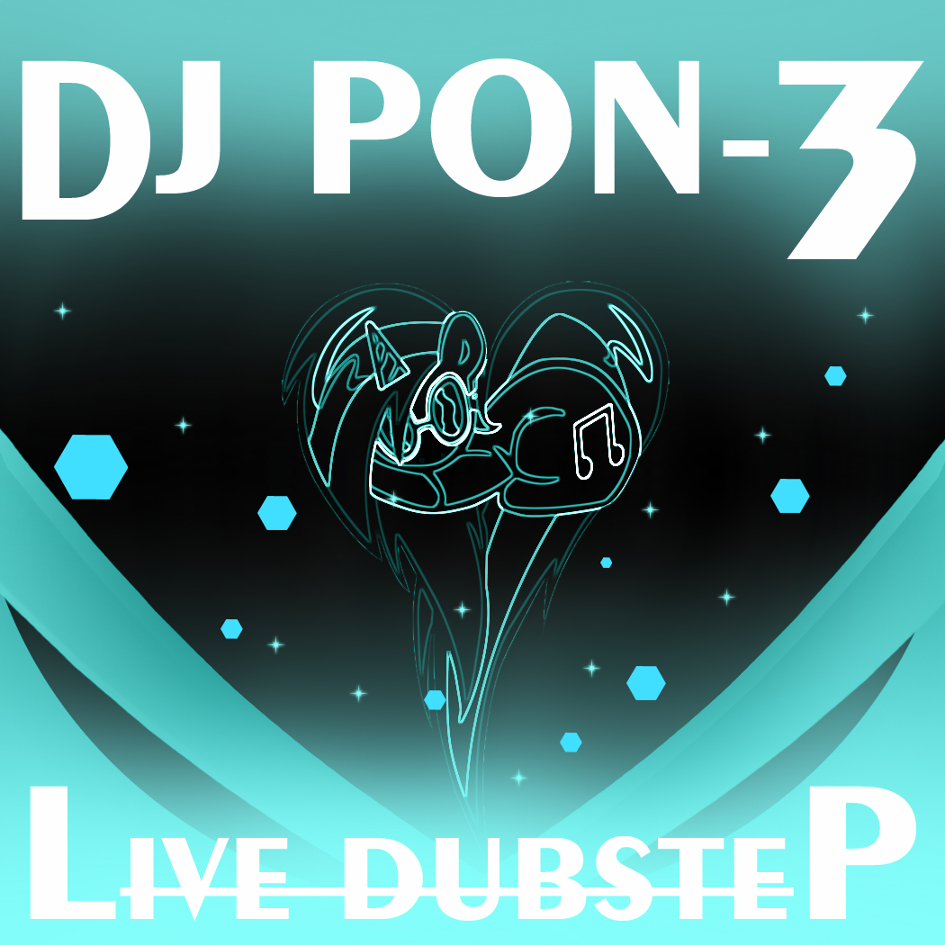 DJ PON-3: Live Dubstep album cover by MidnightFlare115 on ...