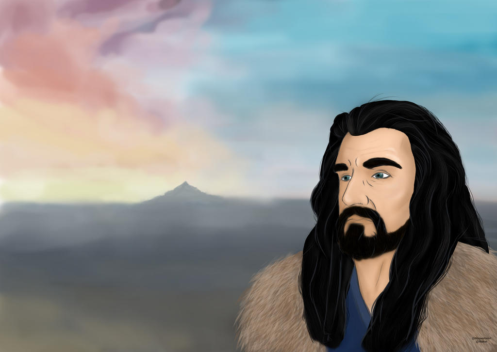 Thorin - Lonely Mountain by Malkel