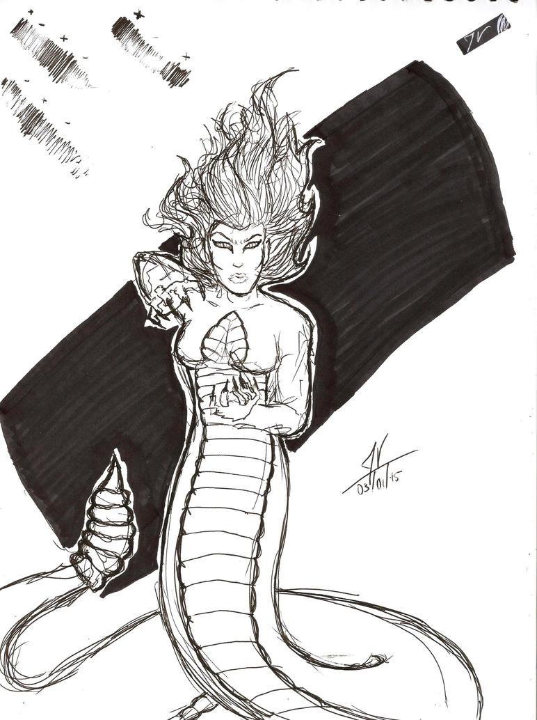 Pen Sketch4 by Malkel