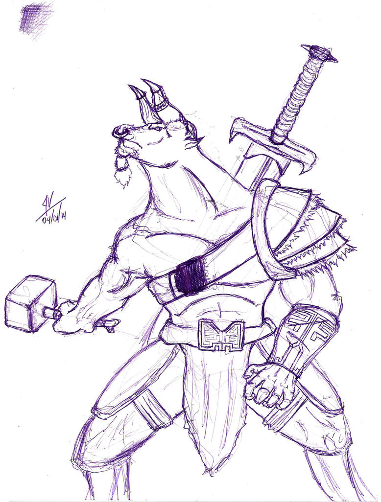 Pen Sketch5 by Malkel