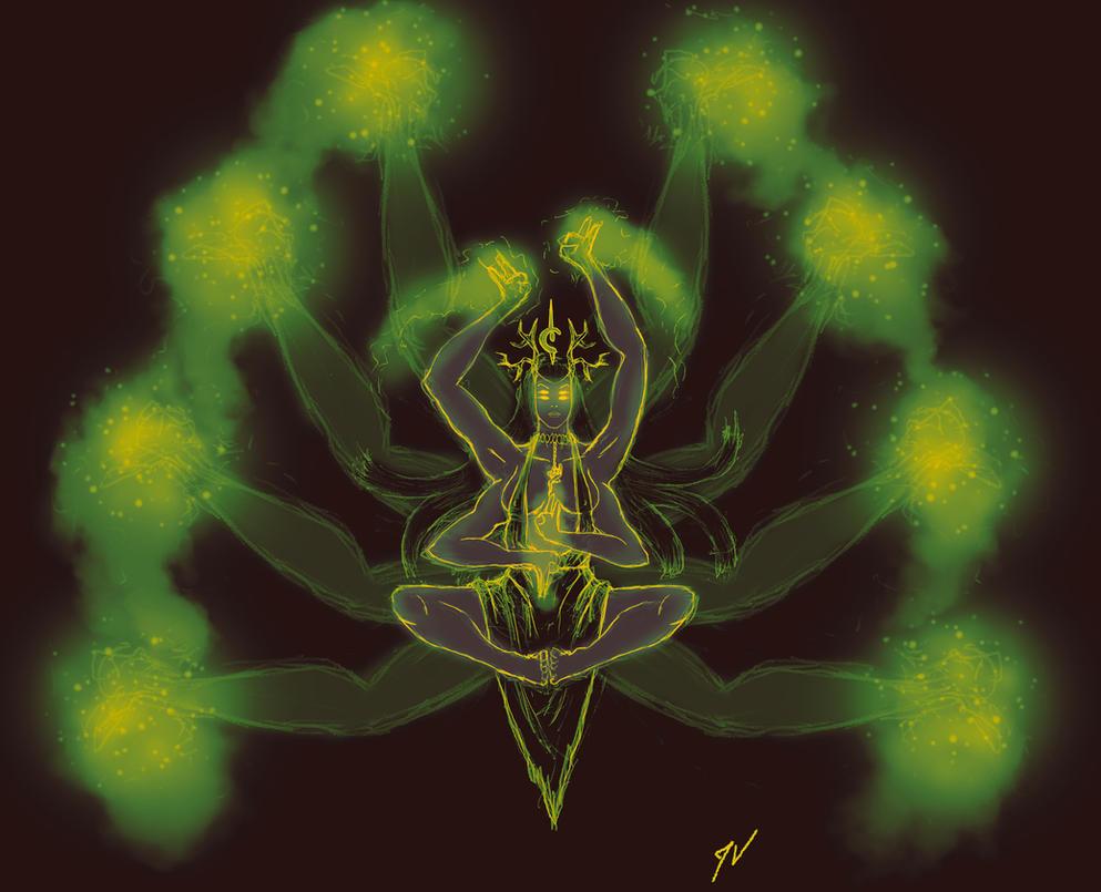 Meditation by Malkel