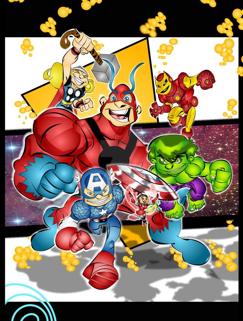 avengers v2 by kevtoons