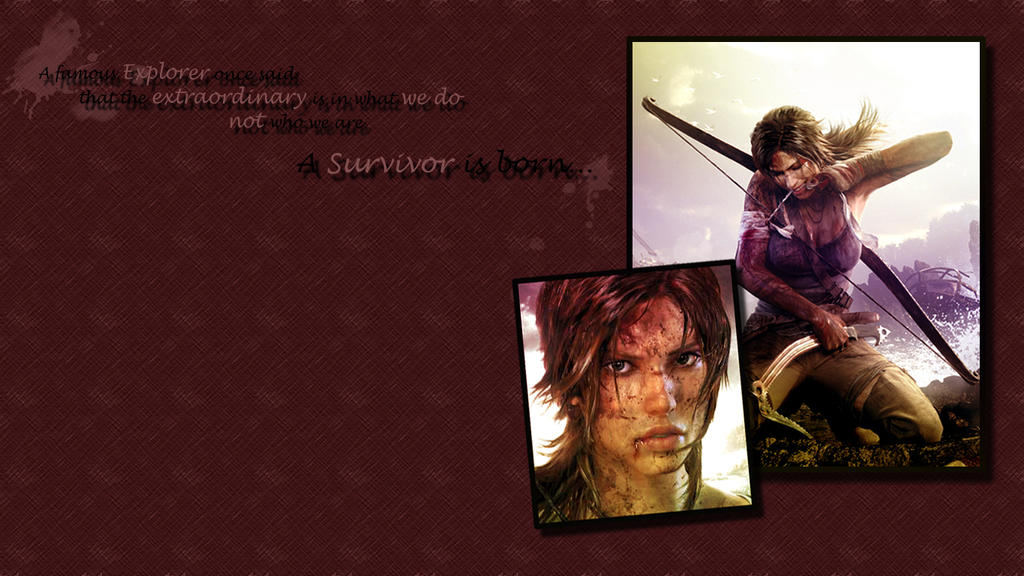 Tomb Raider A Survivor is Born by softlady