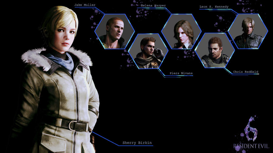 Sherry Birkin Resident Evil 6 by softlady
