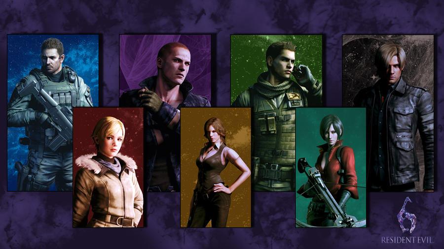 Resident Evil 6 by softlady