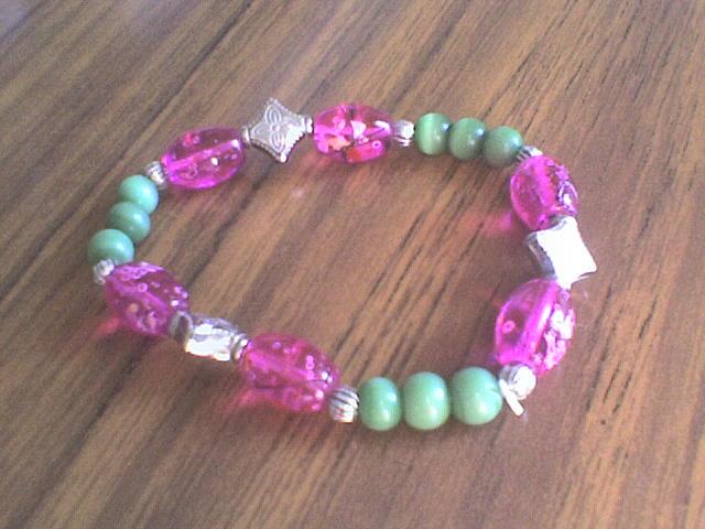 'Sakura' bracelet by mirkmaid
