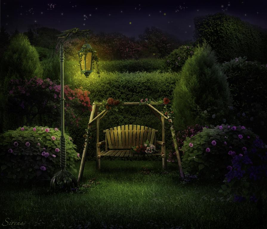 The Night Garden By Sirena Art On Deviantart