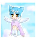 angelic cat girl chibi?