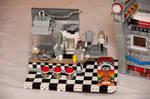 LEGO Diner Interior Removed
