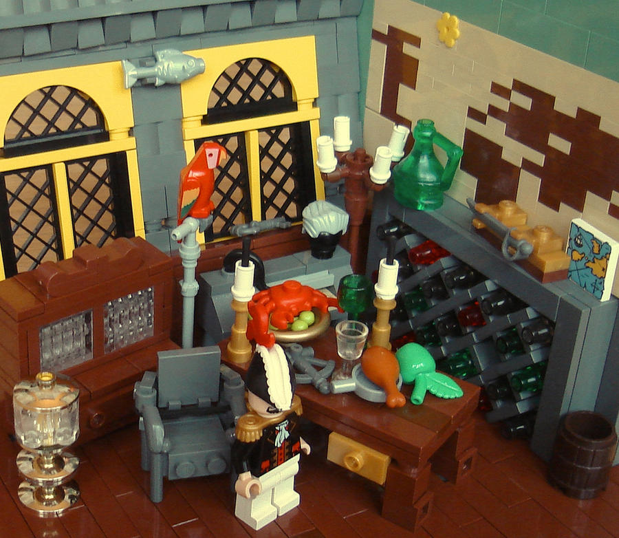 LEGO Captain's Quarters by Mister-oo7