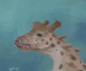 Giraffe by BeakBonk