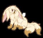Albino Rabbit 027 by KemataDen