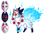 Ominous Kitsune by KemataDen