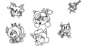 Fanchild Neko Doodles