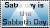 Sabbath Day Stamp by kasaibou
