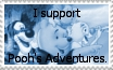 Pooh's Adventures Stamp by kasaibou