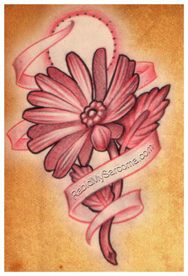 flower tattoo sketch | Flower Tattoo
